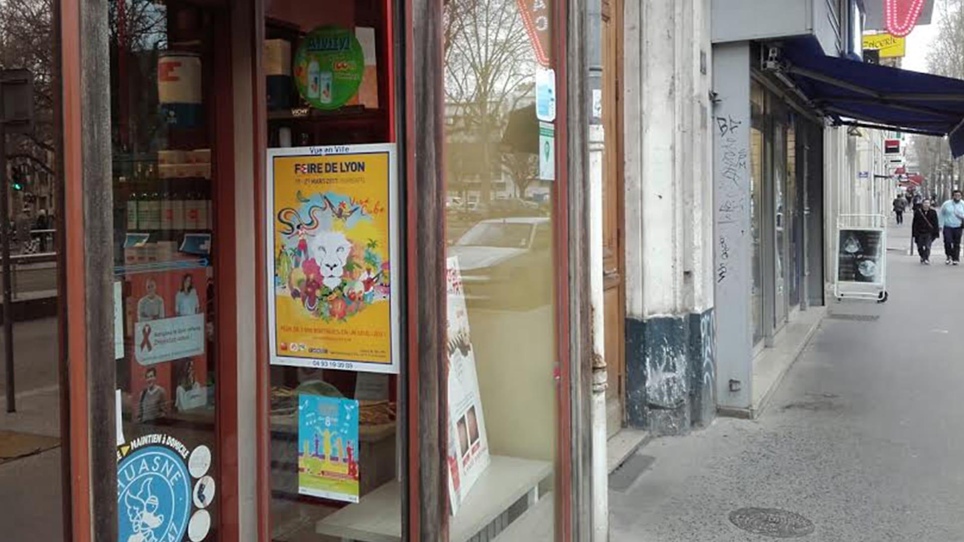 Réseau d'affichage Lyon
