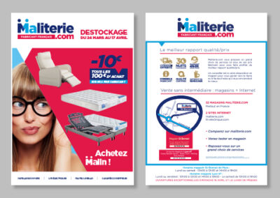 Affichage Maliterie.com