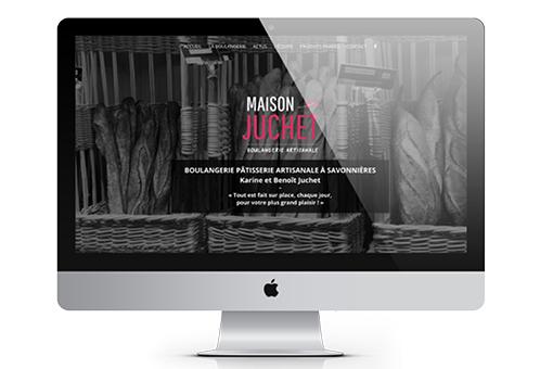 Site internet Maison Juchet