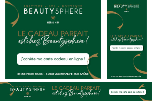 Bannières web Beautysphere