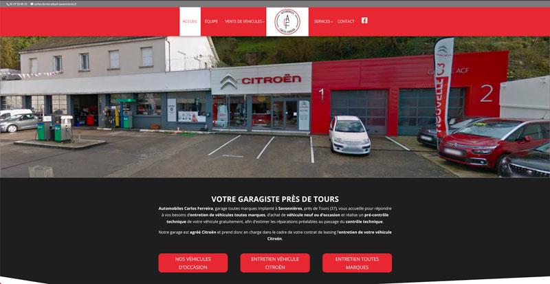 Site internet ACF Savonnières