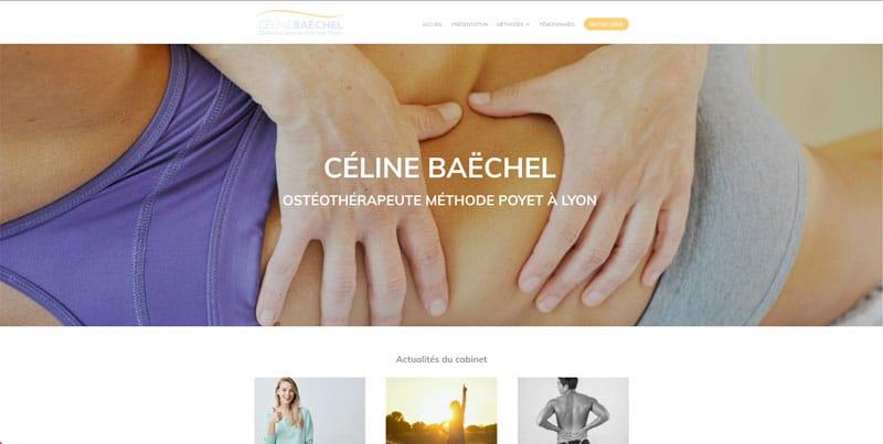 Site internet Céline Baëchel