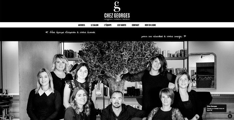 Site internet Chez Georges
