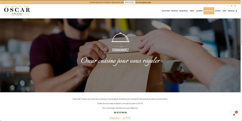 Site internet Oscar Les Puces du Canal