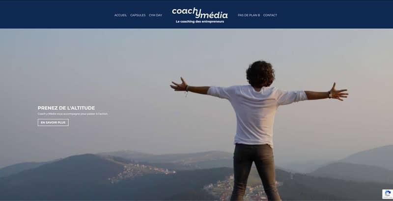 Site internet Coachymedia