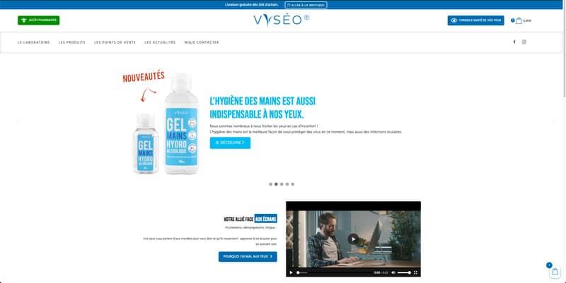 Site internet Vyséo