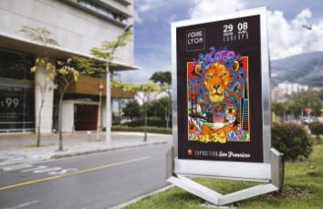 Affiche Foire de Lyon