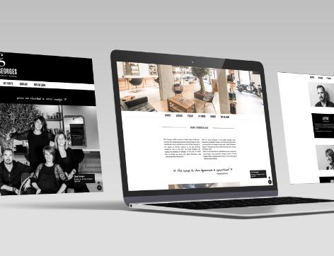 Site web Chez Georges