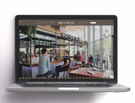 Site web Gourmet Bar
