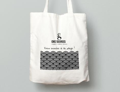 Tote Bag Chez Georges